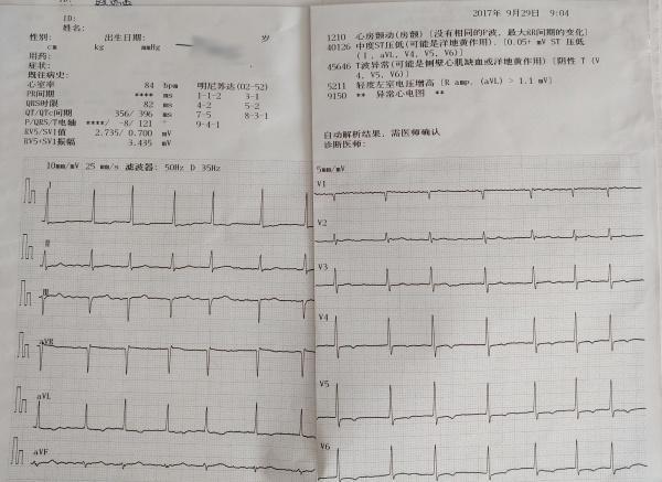 社区医院病例回顾(57)高龄老人的胸闷气短胸痛